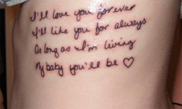 میں ہمیشہ آپ سے محبت کروں گا. میں ہمیشہ آپ کے لئے پسند کروں گا