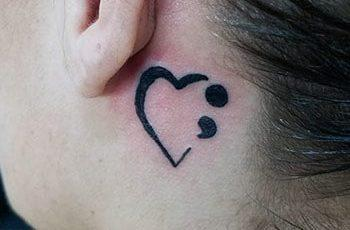 Best Semicolon Tattoo