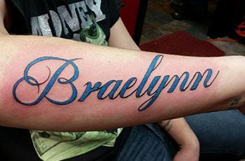 Best name tattoos