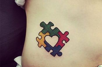 best autism tattoos design idea