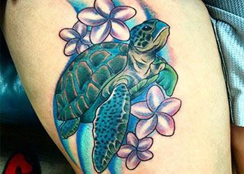 best turtle tattoos design Idea