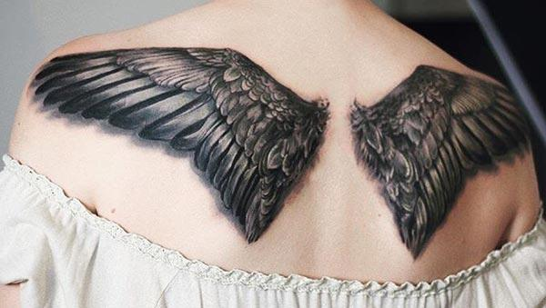 Wing tattoo dina tonggong brings katingal captivating