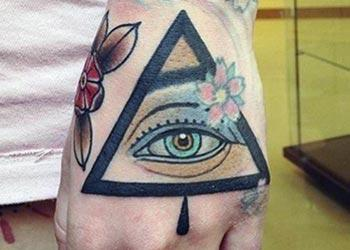 best eye of God tattoo design ideas