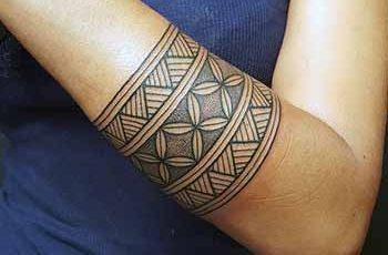Tribal Armband Tattoo for Women