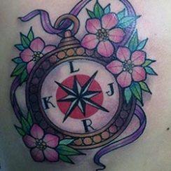 Najbolja tetovaža kompasa
