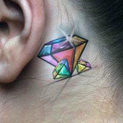 Најбоља дијамантска тетоважа