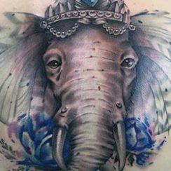 best tattoo elephant