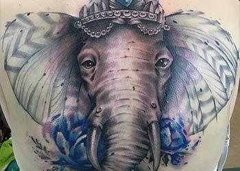 best elephant tattoo