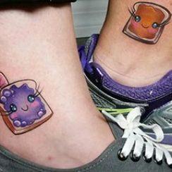 лучшие татуировки друзей