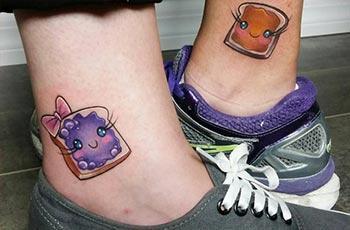 legjobb barát tetoválás