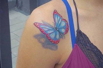 best butterfly tattoos