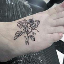 Най-добра идея за татуиране на краката