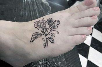 Best Foot Tattoos Design Idea