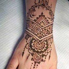 beste henna tattoos