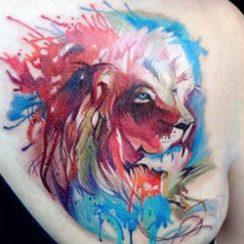 An Tattoos Lion is Fearr