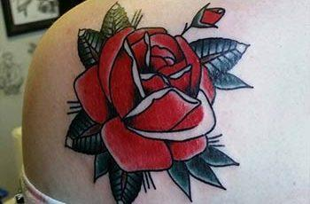 best rose tattoos