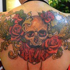 melhores tatuagens de crânio