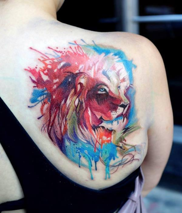 Lion Tattoo for Women makes them look sexy and fabulous