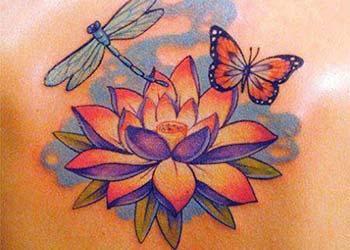 Best Lotus Flower Tattoo Ideas
