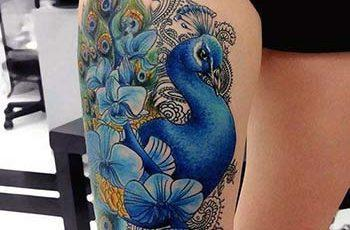 Best Peacock Tattoos-for Women