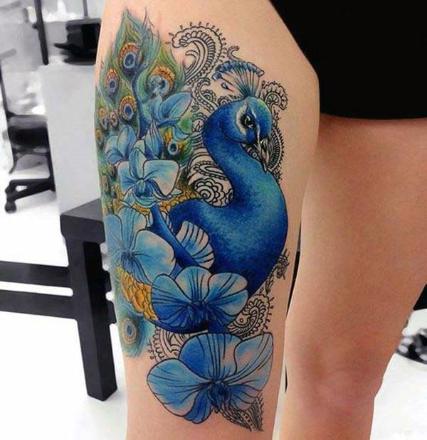 peacock tattoos for women tattoos art ideas. Black Bedroom Furniture Sets. Home Design Ideas