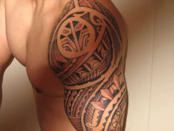 Ravishing Filipino Tribal Tattoo ideas on shoulder for Masculine Men