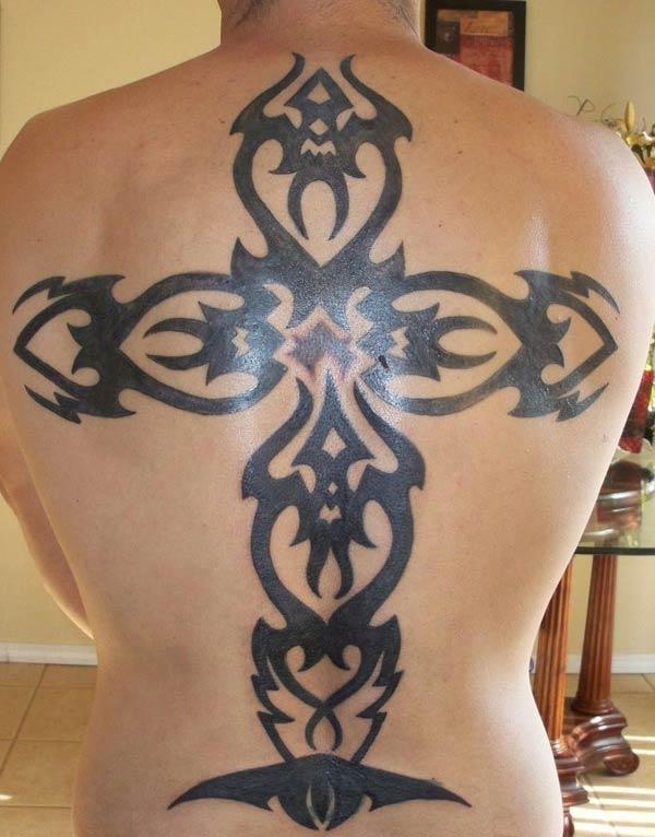 cross tattoos tribal cross tattoos design ink idea for men