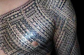 Samoan Tribal Tattoo for Men