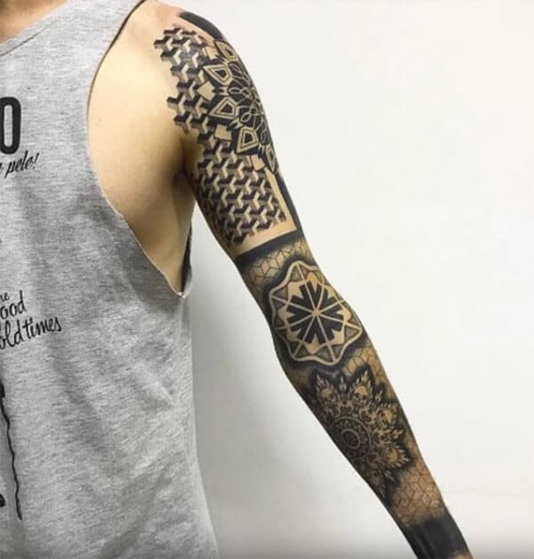 Jaw-dropping cool sleeve tattoo ideas for Men