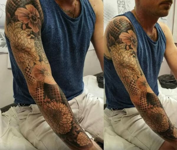 Striking beautiful sleeve tattoo designs for Boys and Men