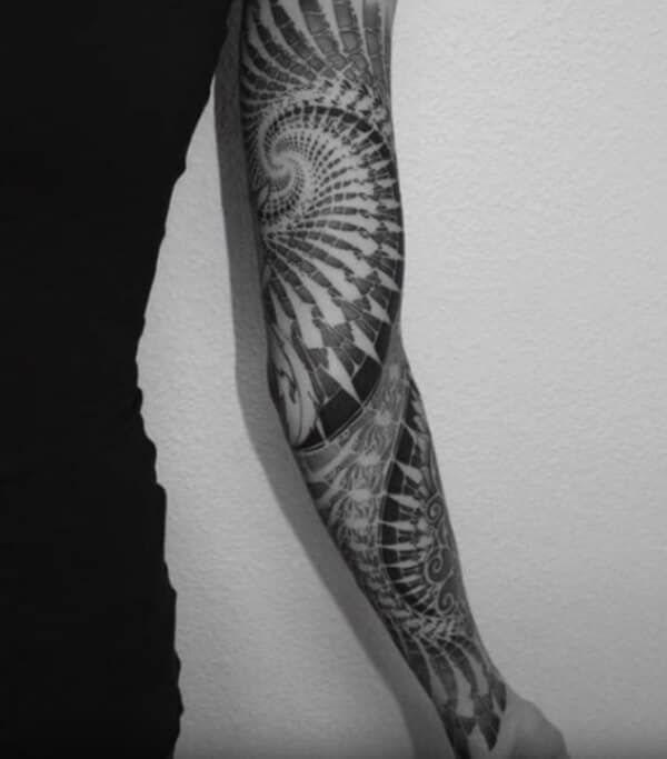 Brilliant artistic sleeve tattoo ideas for Boys
