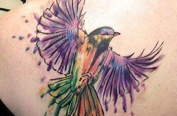 Bird tattoo for women