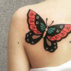 Butterfly Tattoos naistele