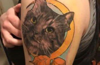Cat Tattoos for women