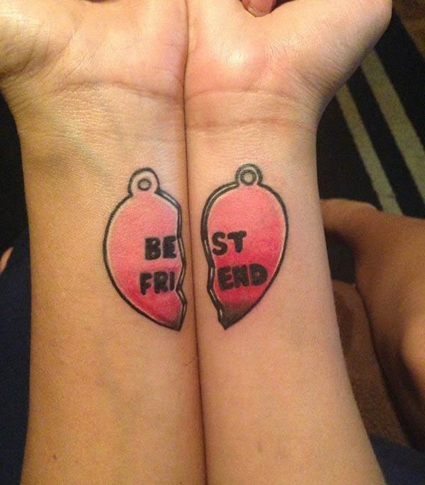 radošs vislabāk draugu tetovējums idejas par plaukstas locītavu draugiem
