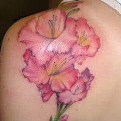Flower Tattoo Design for Women