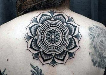 Mandala Tattoo Design for Women