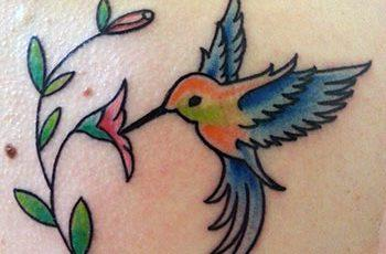 Hummingbird Tattoo for Women