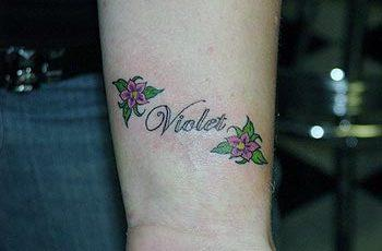 A cute tattoo tattoo design for girl