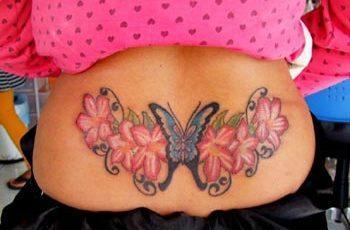Lower Back Tattoo for Women
