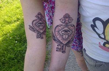Matching Tattoo for Women